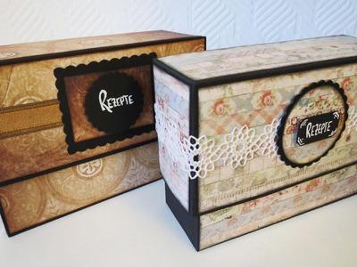 Rezeptbox selber machen * Recipe box DIY [eng sub]