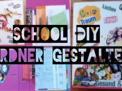 SCHOOL DIY - ORDNER GESTALTEN, ORGANISATION & MEHR