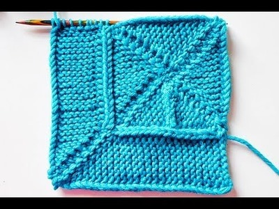 """Stricken * 10 Stitch Blanket """"eliZZZa"""" * Teil 2 * 10-Maschen-Decke * Wickelmaschen"""
