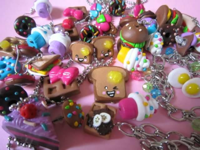 Sweet Handmade Polymer Clay Jewelry by Nicrazy ♥♥♥