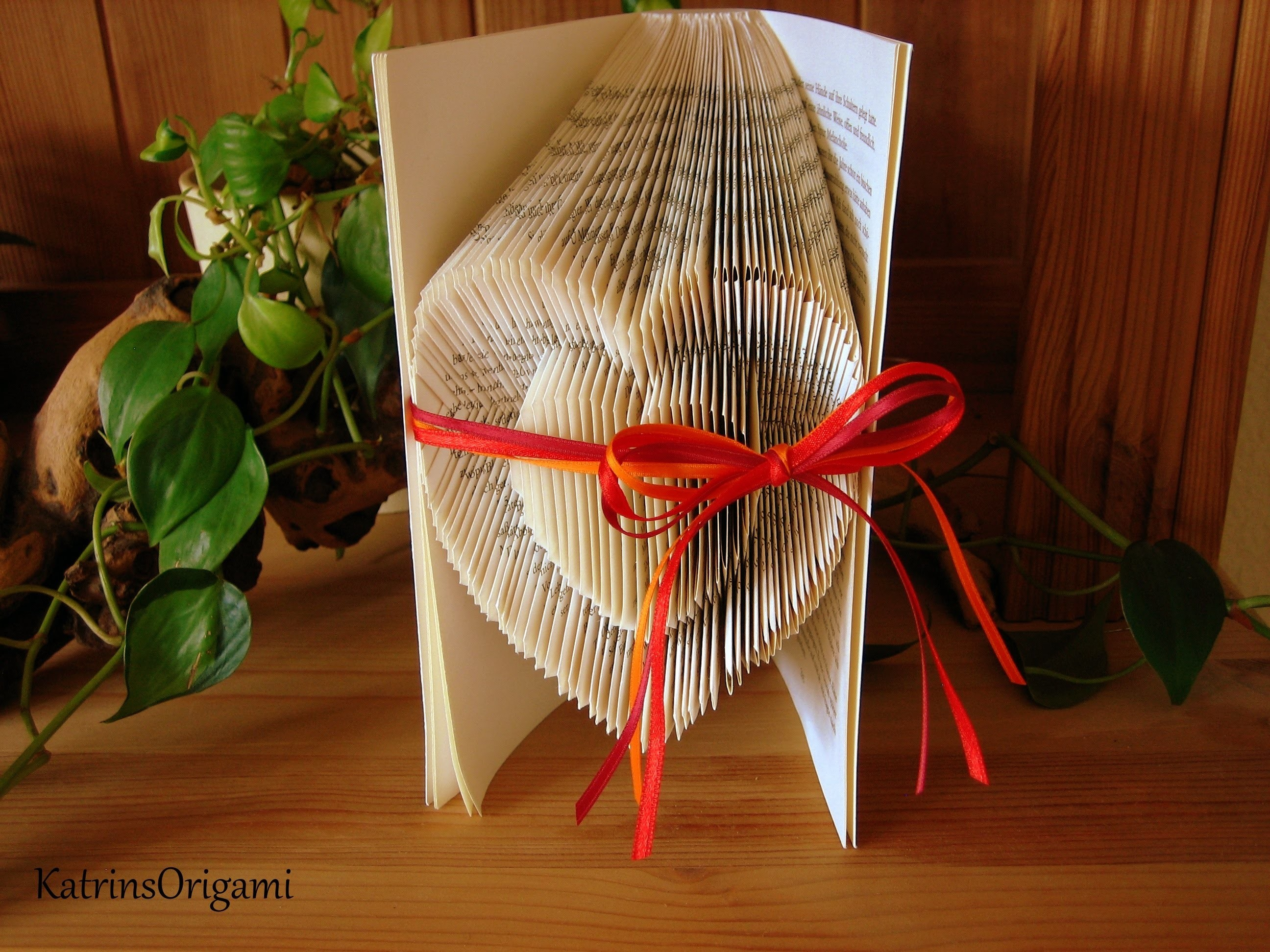 Book folding Art - Origami Sculpture