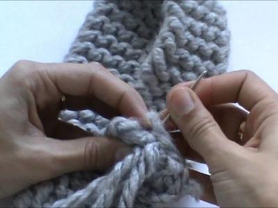 Crealoo Big Knit Videotutorial Costura 2   Zusammennaehen 2