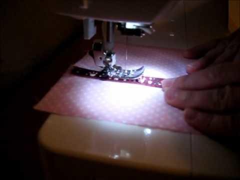 Der Stoffwichtel beim Nähen .  - Stoffwichtel sewing