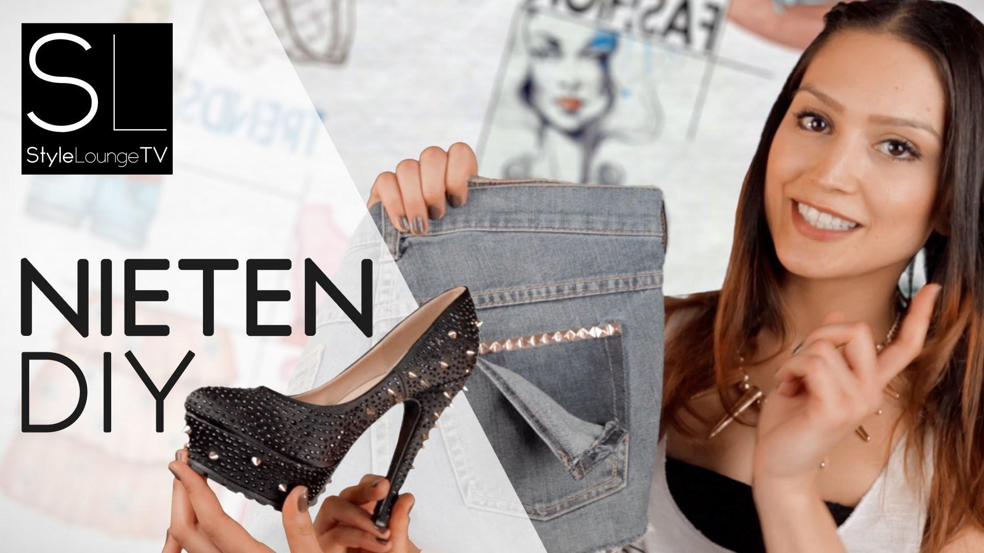 DIY Fashion - Nieten selber anbringen - Schuhe DIY #Sevil (DE)