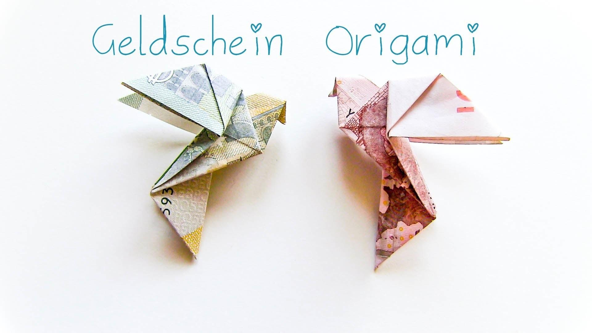 diy geldschein origami vogel geschenkidee. Black Bedroom Furniture Sets. Home Design Ideas