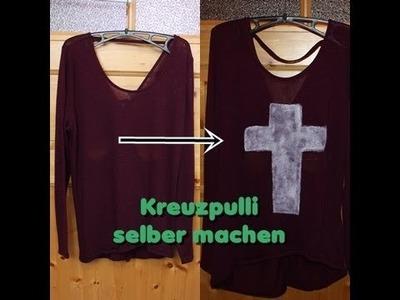 DIY: Kreuzpulli (leichter Fail :D)