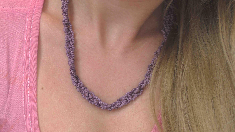 DIY Necklace Tutorial - Tolle Kette aus Miniperlen selber machen Anleitung