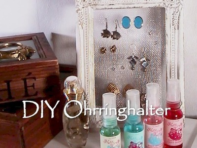 DIY Ohrringhalter [Tutorial]