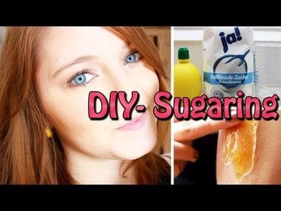 DIY - Sugaring. Halawa (Haarentfernung)