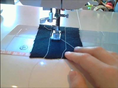 GeniMonster's Costume-Tutorial (DIY) Part 4: Maschine einrichten + erste Übungen