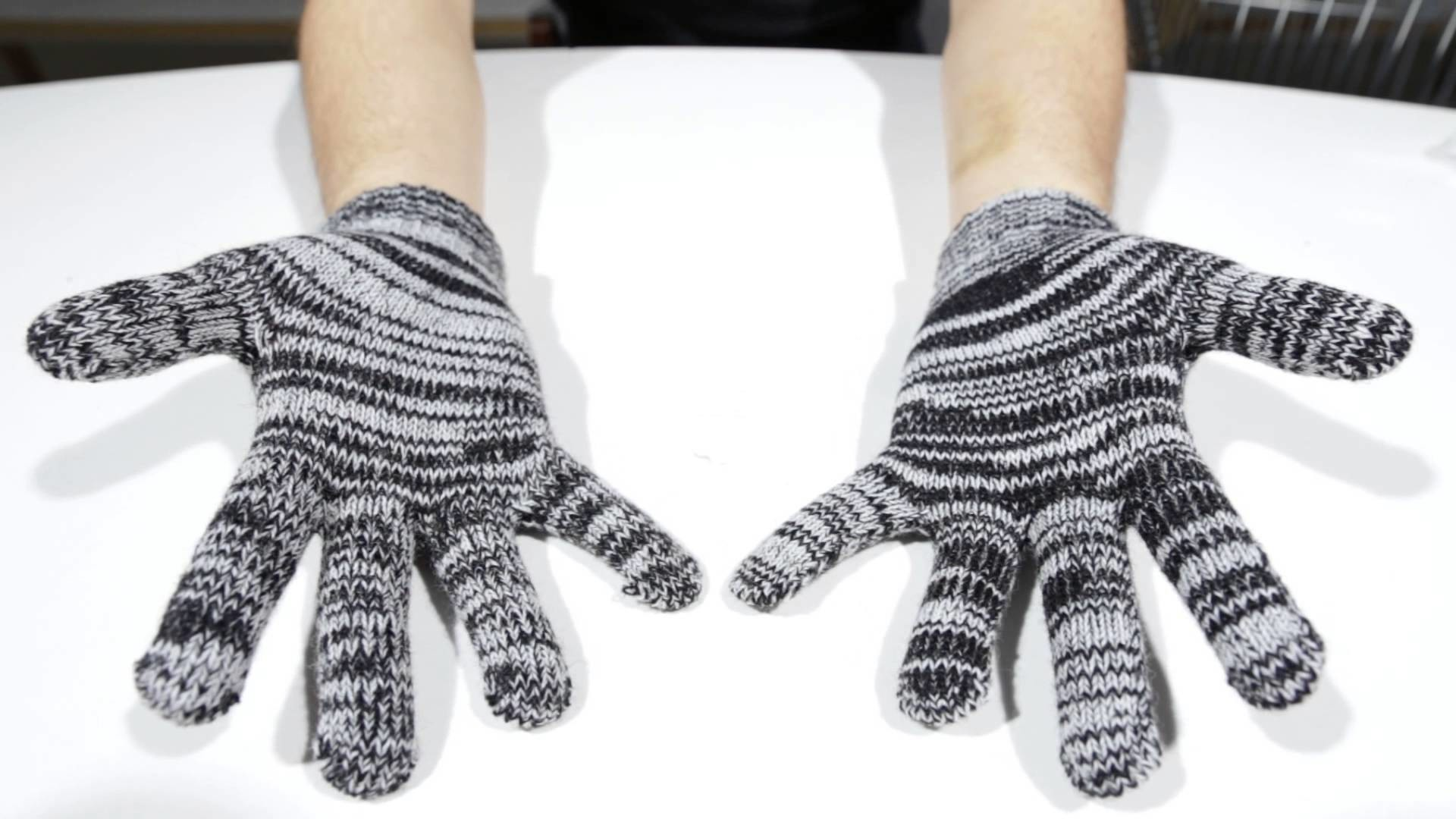 Iriedaily Handschuhe - Gritty Knit Gloves salt n pepper - Men