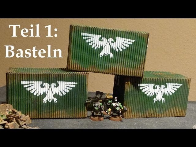Lets craft # 36 Bastel Tutorial - Imperiale Container