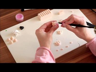 N8Tv - Polymer Clay #3: Glücksschweinchengesichter