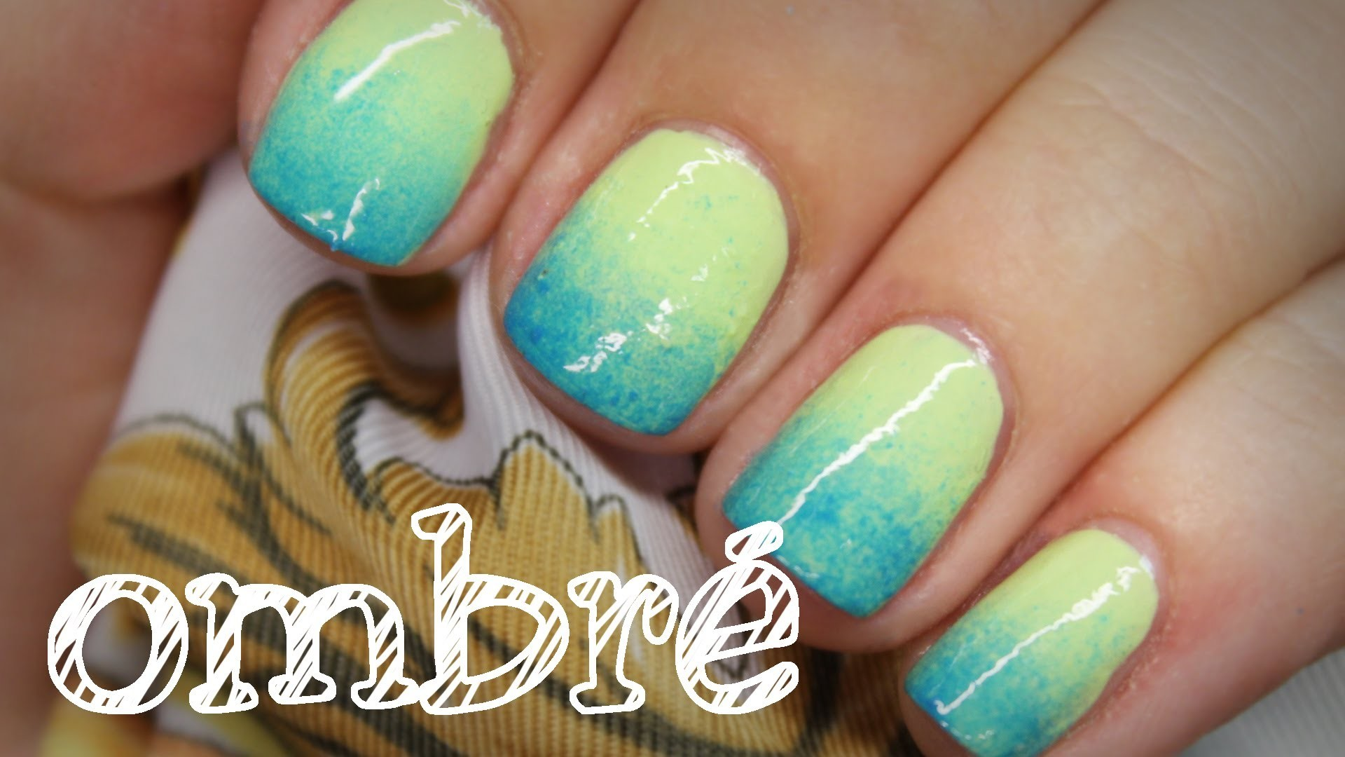 |Nägel| Ombre-Nails - schnell & einfach - Nägel mit Farbverlauf