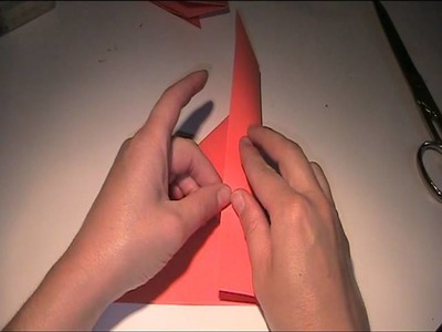 Origami Anleitung und Vorlage - Hund falten