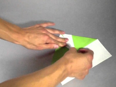 Origami Flieger: Arrow. Anleitung zum Papier Flieger falten