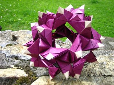 Origami ❉ Regatta ❉ Kusudama