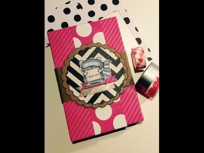 Scrapbook ***Akkordeon-MiniAlbum*** [tutorial]
