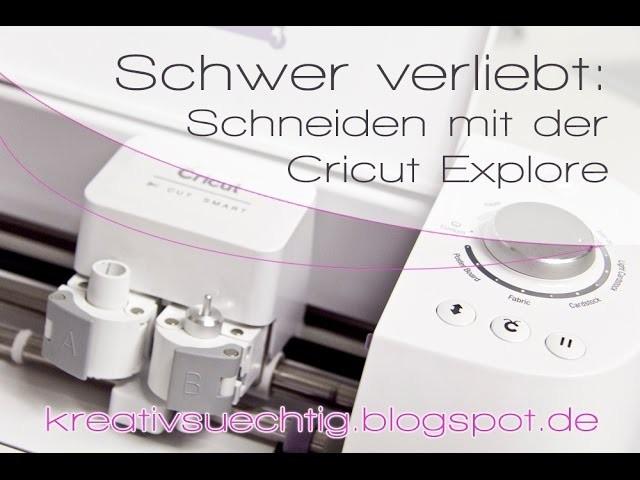 Scrapbook Hintergrund schneiden mit der Cricut Explore