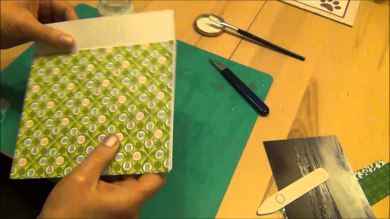 Teil 1 Tutorial Scrapbook-Minialbum
