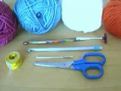 Tunesisch Häkeln_Tipps zum Material * Tunisian Crochet_supplies' tips