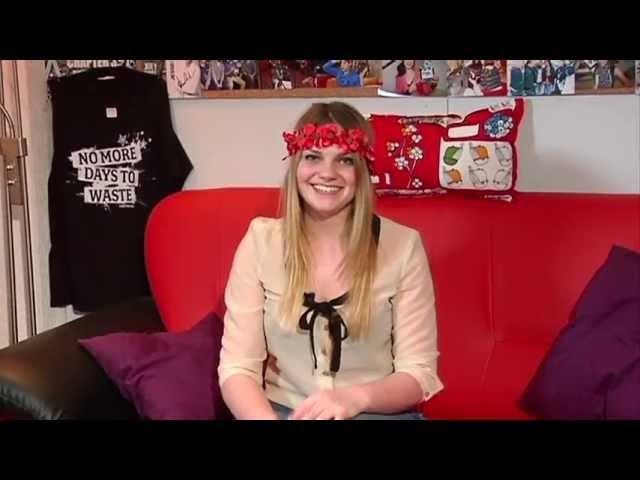 Tutorial: DIY Blumen Haarkranz - Bubble Gum TV