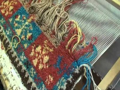 Webknüpfen - Teppich