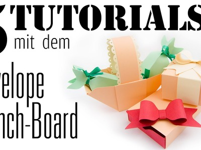 5 Tutorials mit dem Envelope Punchboard | DEUTSCH