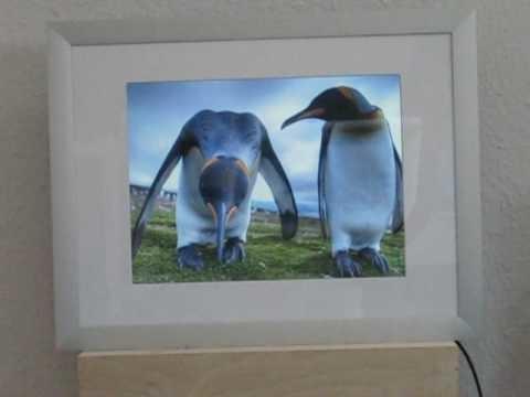 Digitaler Bilderrahmen selbst gebaut - Digital Picture Frame DIY