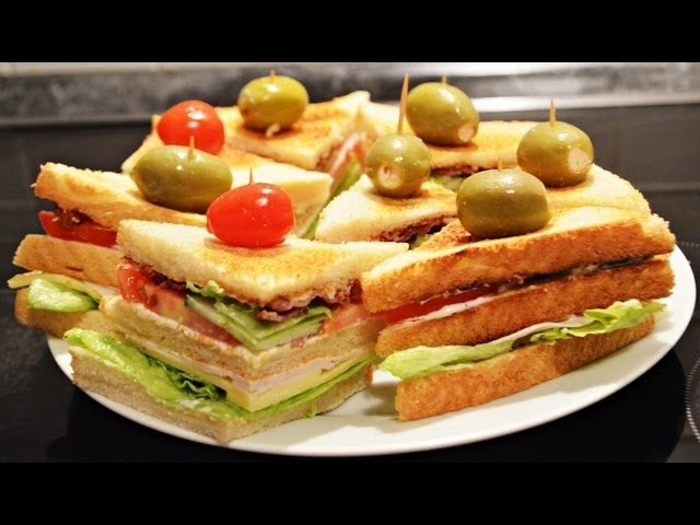 DIY : ♥ CHICKEN - BACON SANDWICH ♥ EINFACH - SCHNELL & SUPER LECKER - REZEPT - TUTORIAL =)