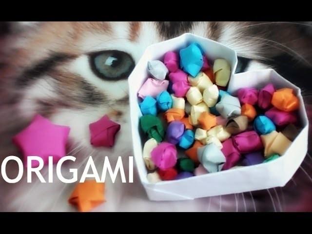 DIY: Herz Origami + Stern Origami