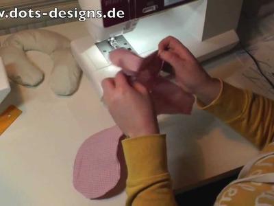 DIY | Nackenhörnchen selber nähen | Nähen für Anfänger | Tutorial