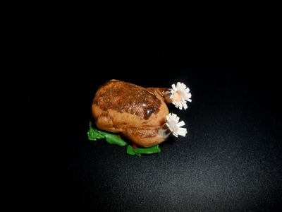 FIMO Hähnchen: Polymer Chicken (Fryer) - Tutorial [HD.deutsch]