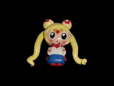FIMO Sailor Moon: Polymer Chibi - Tutorial [HD.deutsch] (EN-Sub)