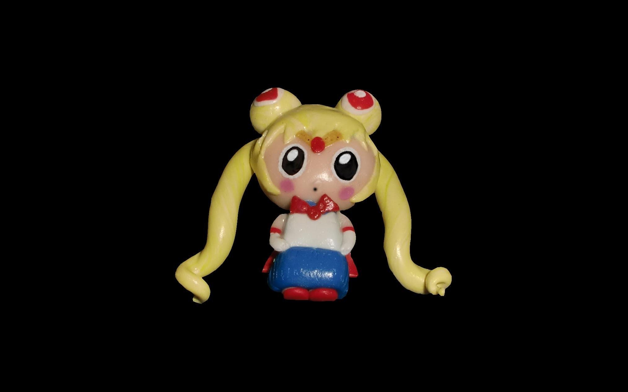 FIMO Sailor Moon: Polymer Chibi - Tutorial [HD.deutsch] (EN-Sub)