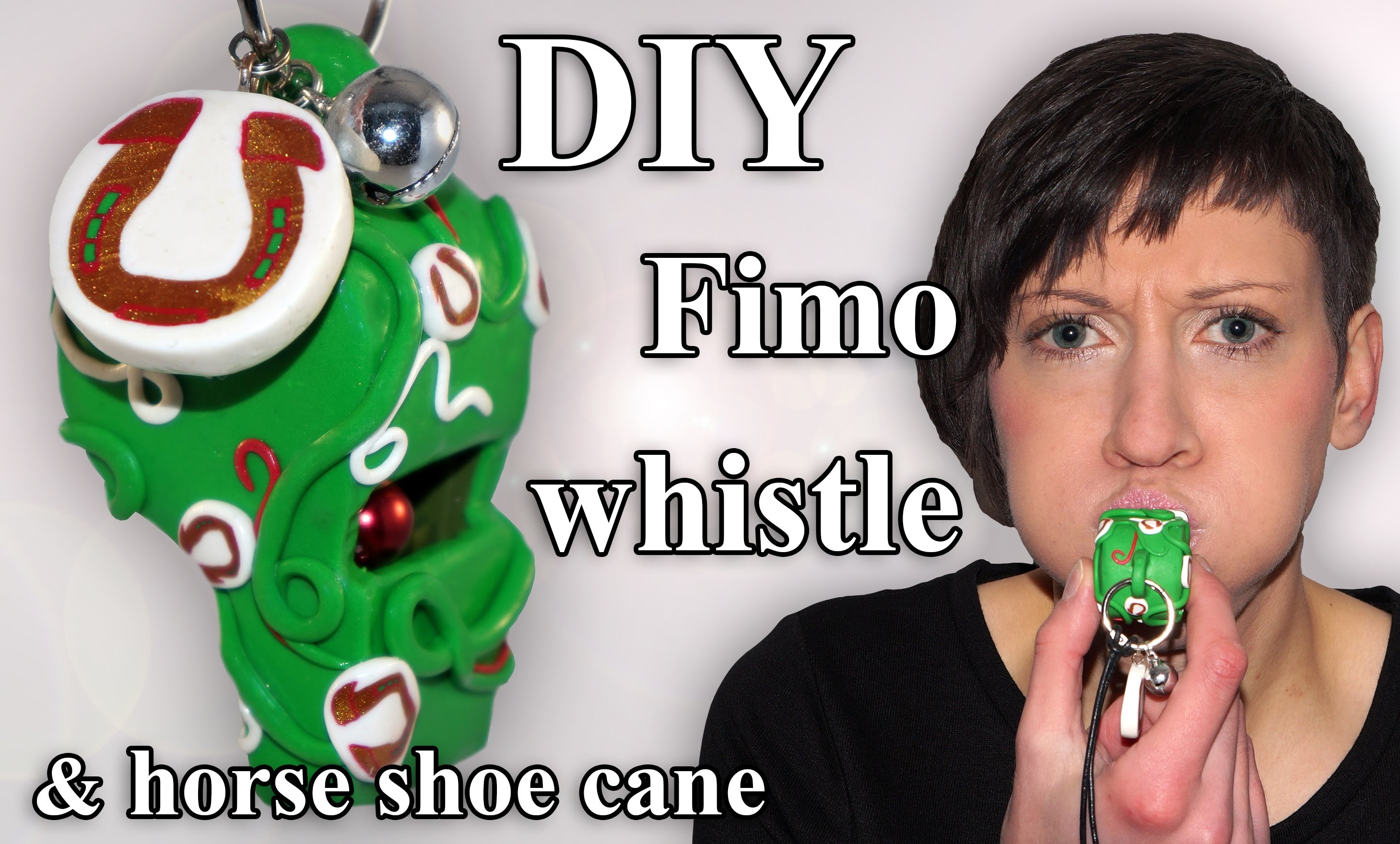 FIMO Trillerpfeife: Polymer Clay Whistle - Tutorial [HD.DE] (EN-Sub)