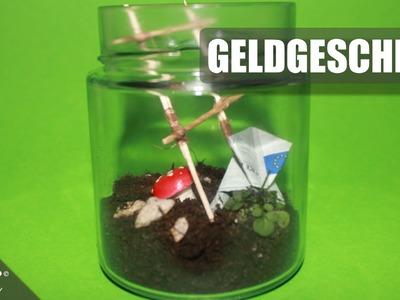 Geldgeschenk. Gift Of Money. Frosch. Frog. Geschenkidee. Origami