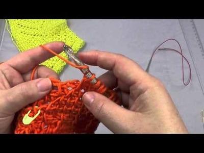 Half Granny Square Tuch Häkeln Lernen Fortgeschrittene Woolpedia