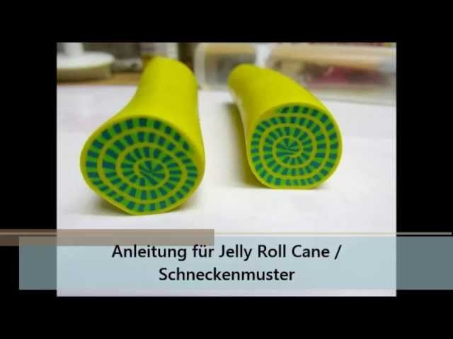 KathyDee Tutorial. Anleitung Nr. 2: Polymer Clay Jelly-Cane