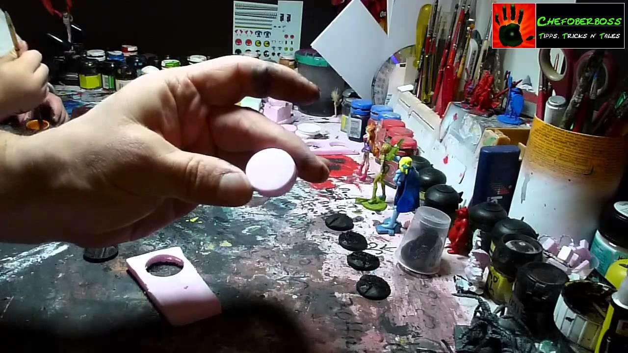 Let´s Craft - runde Bases selbst bauen