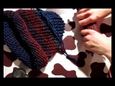Mütze stricken - Teil 2 (022)