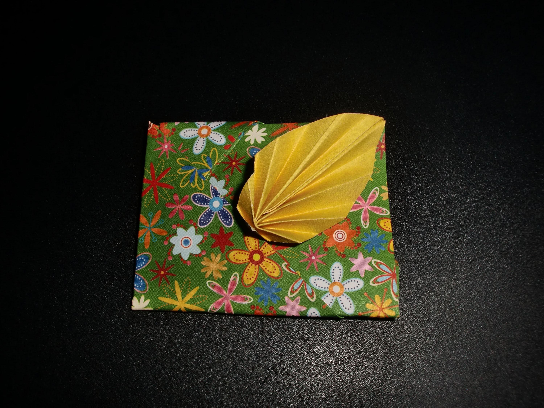 Origami Blatt-Umschlag: Envelope-Leaf - Tutorial [HD]