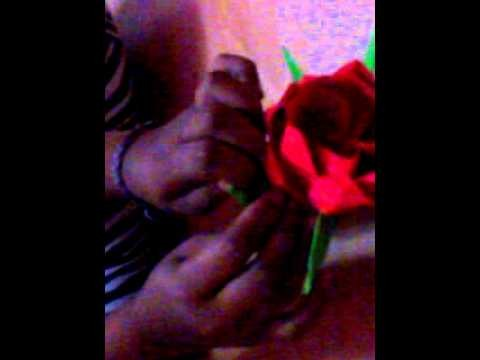 Origami Blume basteln-Teil 2
