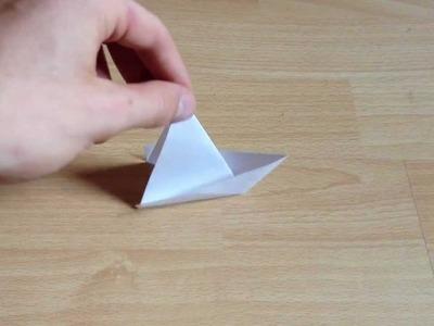 Origami Segelboot selber machen - Anleitung zum Falten