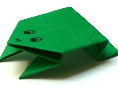 Origami Tiere falten - #02 Frosch (frog)