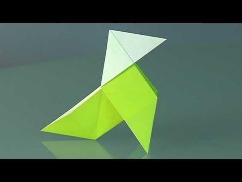 Origami Voguel. Origami Papierfaltkunst lerner