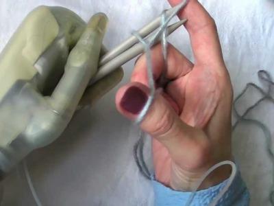 Stricken lernen Teil 2 - knitting with Limb Ultra. Maschen aufnehmen