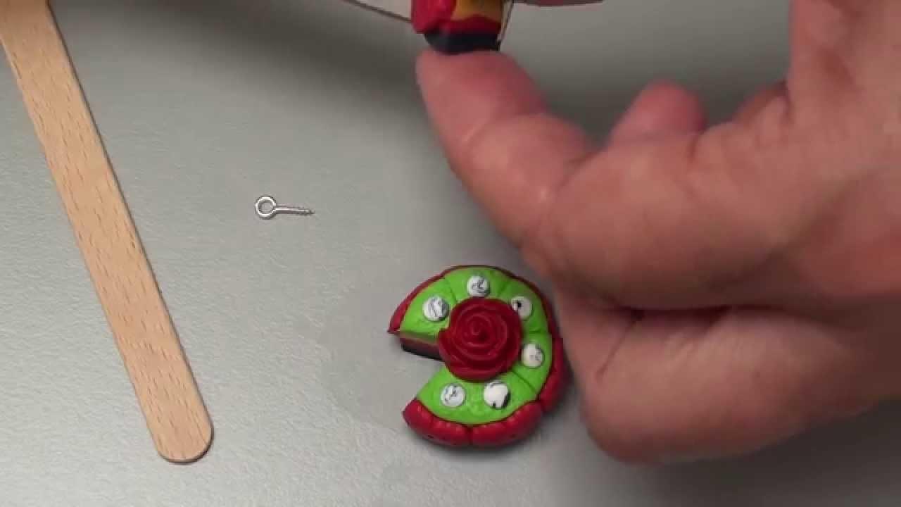 (Tuto Fimo) Fussball WM TORTE ,Polymer Clay