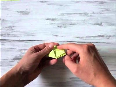 Tutorial: Origami-Würfel falten