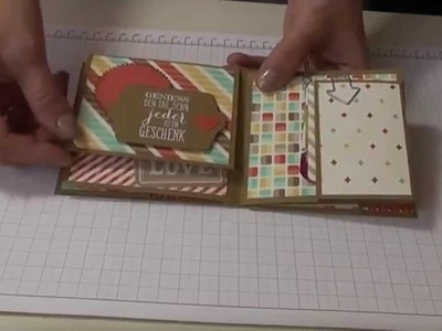 Workshop Tutorial Mini Album Stampin up